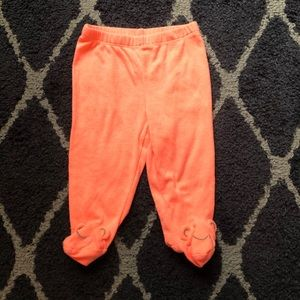 🌟5 for 15$🌟 neon orange footed leggings